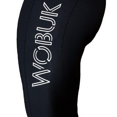 WOBUK Womens Black Leggings with Pocket Close