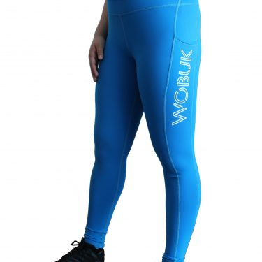 WOBUK Womens Squat Proof Leggings with pocket ront