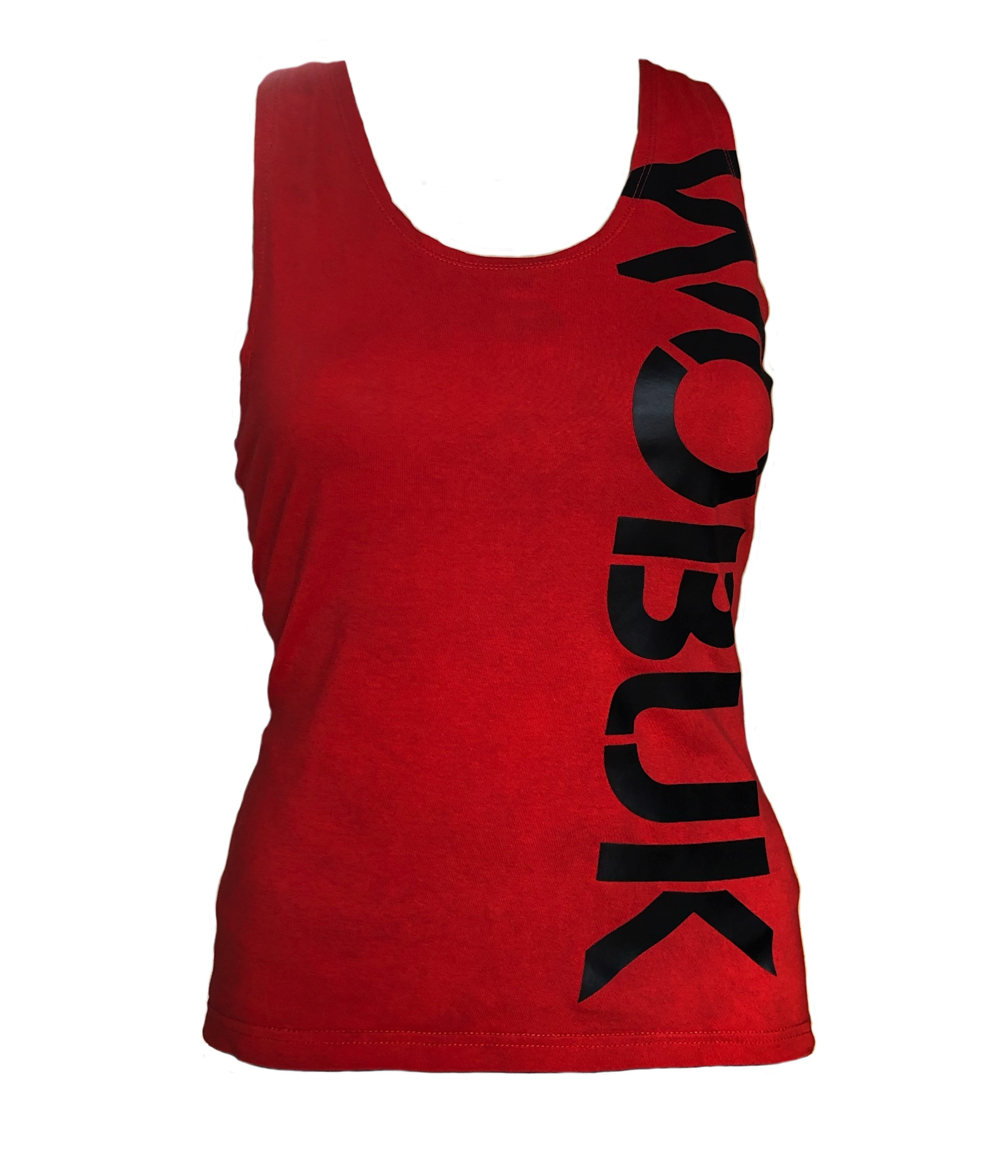 Womens Racer back Fitted Vest top