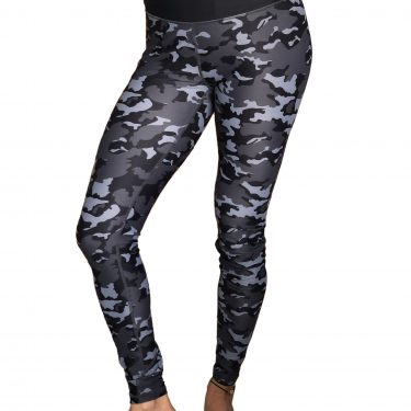 Womens Camouflage leggings front view