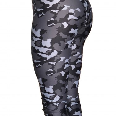 Womens Camouflage leggings back view