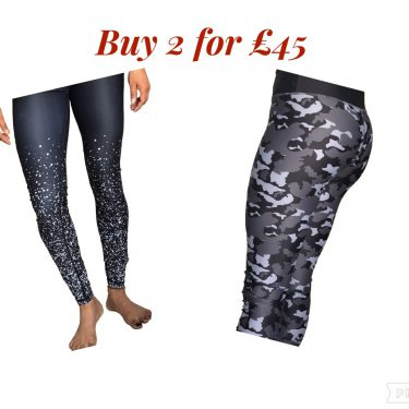 Camo and Sparkly leggings offer