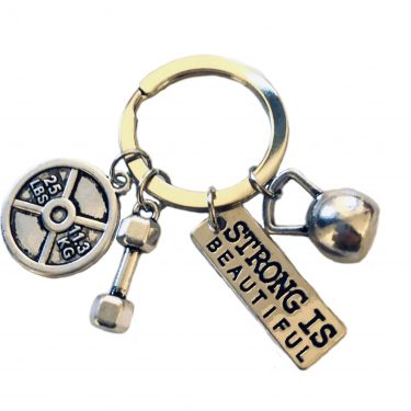 Strong is Beautiful keyring