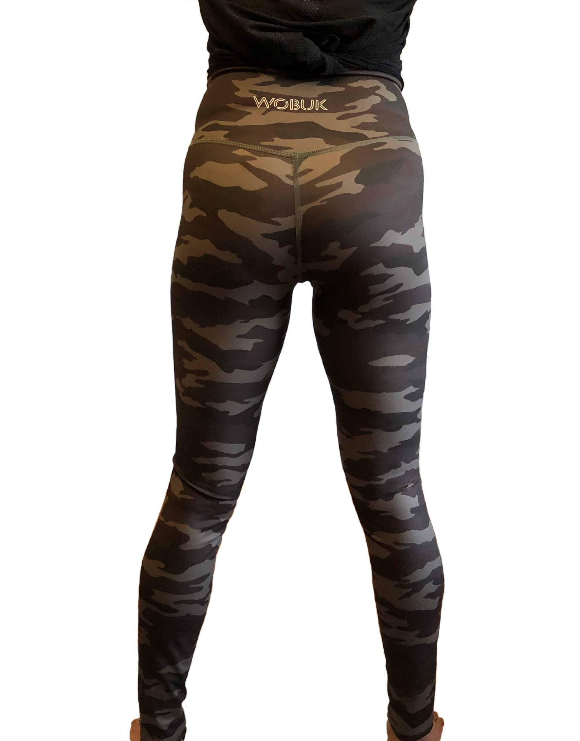 Womans Green Camo leggings